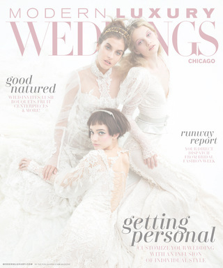 modern luxury weddings chicago summer 2017 magazine